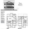 The Aiken Plan by Allison Ramsey Architects is 2849 Heated Square Feet, 4 Bedrooms and 3 1/2 Bathrooms. Carolina Inspirations, Book II, Page 84, C0418.
