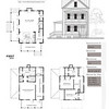 This plan is 2076 Heated Square Feet, 3 Bedrooms and 2 1/2 Bathrooms. Carolina Inspirations, Book II, Page 81, C0413.