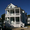 The Calhoun Plan by Allison Ramsey Architects built at East Beach in Norfolk, Virginia. This plan is 2752 Heated Square Feet, 4 Bedrooms & 3 1/2 Bathrooms. Carolina Inspirations, Book II, Page 15. C0335.