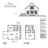 The Callahan Plan by Allison Ramsey Architects  is 1290 Heated Square Feet, 2 Bedrooms and 2 Bathrooms. Carolina Inspirations, Book II, Page 79, C0416.