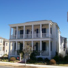 The Channing Plan by Allison Ramsey Architects built at East Beach in Norfolk, Virginia. This plan is 2934 Heated Square Feet, 4 Bedrooms and 4 Bathrooms. Carolina Inspirations, Book II, Page 88, C0420.