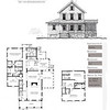 This plan is 2545 Heated Square Feet, 3 Bedrooms & 3 1/2 Bathrooms. Carolina Inspirations Book II, Page 33, C0372.