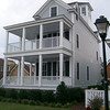The Tower Olivia Plan by Allison Ramsey Architects built at East Beach in Norfolk, Virginia. This plan is 2446 Heated Square Feet, 3 Bedrooms and 3 1/2 Bathrooms. Carolina Inspirations Book II, Page 26, C0365.