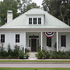 The Bennett's Point Cottage Plan by Allison Ramsey Architects built at Habersham in Beaufort, South Carolina. This Plan is 2001 Heated Square Feet, 3 Bedrooms & 3 Bathrooms. Carolina Inspirations, Book II, Page 49, C0388.
