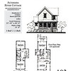 This plan is 1492 Heated Square Feet, 3 Bedrooms & 2 1/2 Bathrooms. Carolina Inspirations, Book III, Page 103, #C0603.