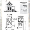 The Carson House plan by Allison Ramsey Architects is 973 heated square feet, 2 bedrooms and 2 bathrooms. Carolina Inspirations Book III, page 28-29, C0528.