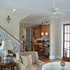 The Craven Plan by Allison Ramsey Architects built in downtown Beaufort, South Carolina. This plan is 2182 Heated Square Feet, 4 Bedrooms and 3 1/2 Bathrooms. Carolina Inspirations, Book III, Pages 8-9, C0508.