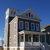 The Gloucester Plan by Allison Ramsey Architects built at East Beach in Norfolk, Virginia. This plan is 2734 Heated Square Feet, 4 Bedrooms and 3 1/2 Bathrooms. Carolina Inspirations, Book III, Page 70, C0570.