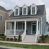 The Hampton Roads Plan by Allison Ramsey Architects built at East Beach in Norfolk, Virginia. This plan is 1965 Heated Square Feet, 3 Bedrooms and 2 1/2 Bathrooms. Carolina Inspirations, Book III, Page 35, C0535.