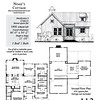 The Noah's Cottage plan by Allison Ramsey Architects built in Beaufort, South Carolina. This plan is 1806 heated square feet (without loft), 3 bedrooms and 2 bathrooms. Carolina Inspirations Book III, page 113, C0613.