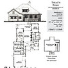 The Snead's Ferry plan by Allison Ramsey Architects is 2623 heated square feet, 3 bedrooms and 3 1/2 bathrooms. Carolina Inspirations Book III, page 74, C0574.
