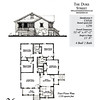This plan is 1259 Heated Square Feet, 4 Bedrooms and 2 Bathrooms. Carolina Inspirations, Book III, page 36, C0536.