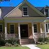The Georgetown Plan by Allison Ramsey Architects built at Daniel's Orchard in Summerville, South Carolina. This plan is 2566 Heated Square Feet, 3 bedrooms and 3 1/2 bathrooms. Carolina Inspirations Book III, page 102. C0602.