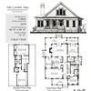 This plan is 2679 Heated Square Feet, 4 Bedrooms and 3 Bathrooms. Carolina Inspirations, Book III, Page 105, C0605.