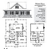 The White Hall plan by Allison Ramsey Architects is 2,038 heated square feet, 3 bedrooms and 3 1/2 bathrooms. Carolina Inspirations Book III, page 44, C0544