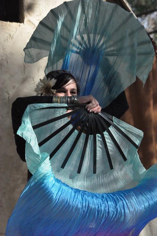 10-30-2011 Carolina Renaissance Festival-Raks Khatar: Jewels of the Caravan Fire and Fans 8