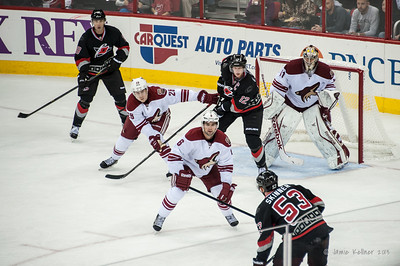 October 13, 2013. Carolina Hurricanes vs. Phoenix Coyotes, PNC Arena, Raleigh, NC.  Copyright © 2013 Jamie Kellner. All rights reserved.