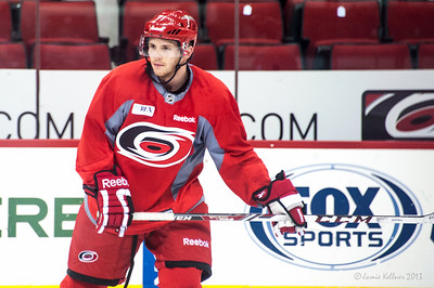 Adam Brace. July 16, 2013.  Carolina Hurricanes Prospect Development Camp, PNC Arena, Raleigh, NC.  © 2013 Jamie Kellner. All Rights Reserved.
