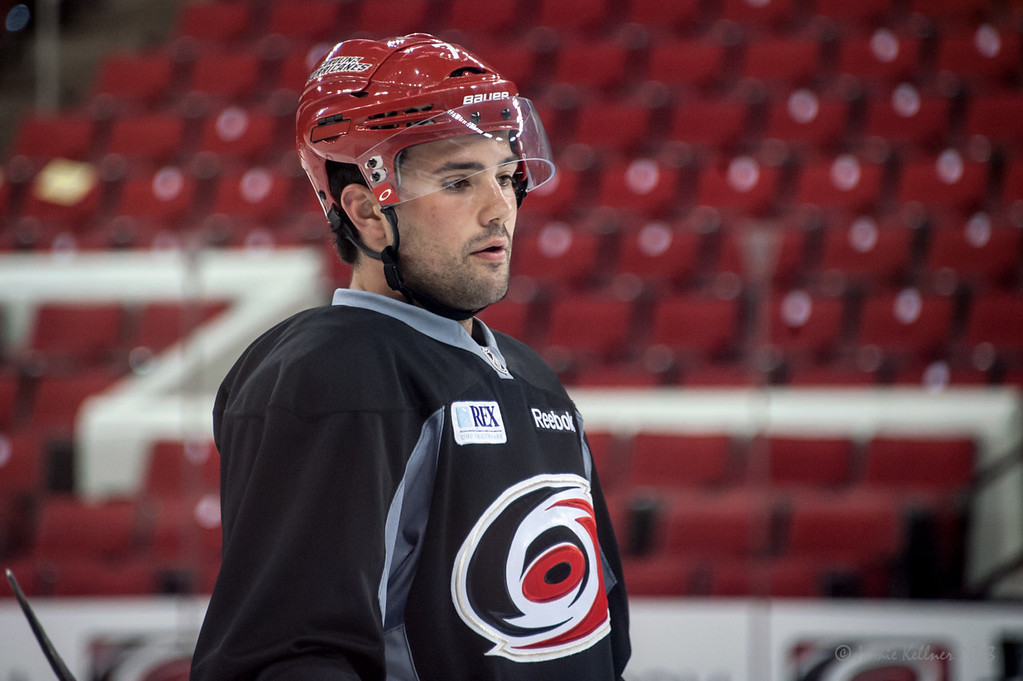 Ryan Murphy. July 16, 2013.  Carolina Hurricanes Prospect Development Camp, PNC Arena, Raleigh, NC.  © 2013 Jamie Kellner. All Rights Reserved.