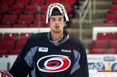 Charlie Millen. July 16, 2013.  Carolina Hurricanes Prospect Development Camp, PNC Arena, Raleigh, NC.  © 2013 Jamie Kellner. All Rights Reserved.