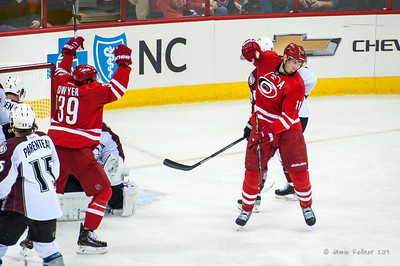 November 12, 2013. Carolina Hurricanes vs. Colorado Avalanche, PNC Arena, Raleigh, NC.  Copyright © 2013 Jamie Kellner. All rights reserved.