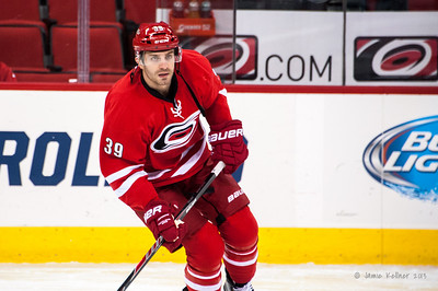 Patrick Dwyer. November 12, 2013. Carolina Hurricanes vs. Colorado Avalanche, PNC Arena, Raleigh, NC.  Copyright © 2013 Jamie Kellner. All rights reserved.