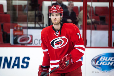 Brett Bellemore. November 12, 2013. Carolina Hurricanes vs. Colorado Avalanche, PNC Arena, Raleigh, NC.  Copyright © 2013 Jamie Kellner. All rights reserved.