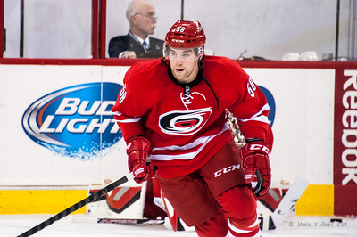 Chris Terry. November 12, 2013. Carolina Hurricanes vs. Colorado Avalanche, PNC Arena, Raleigh, NC.  Copyright © 2013 Jamie Kellner. All rights reserved.