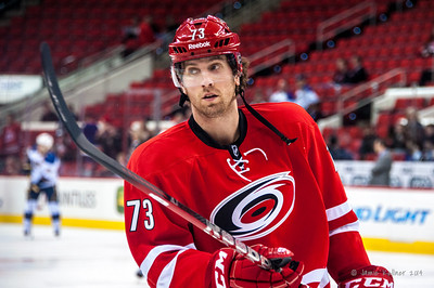 Brett Bellemore. January 31, 2014. Carolina Hurricanes vs. St. Louis Blues, PNC Arena, Raleigh, NC. Copyright © 2014 Jamie Kellner. All rights reserved.