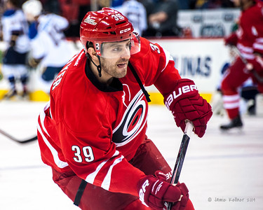 Patrick Dwyer. January 31, 2014. Carolina Hurricanes vs. St. Louis Blues, PNC Arena, Raleigh, NC. Copyright © 2014 Jamie Kellner. All rights reserved.