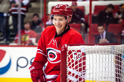 Jeff Skinner. January 31, 2014. Carolina Hurricanes vs. St. Louis Blues, PNC Arena, Raleigh, NC. Copyright © 2014 Jamie Kellner. All rights reserved.