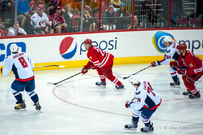 April 10, 2014. Carolina Hurricanes vs. Washington Capitals, PNC Arena, Raleigh, NC. Copyright © 2014 Jamie Kellner. All Rights Reserved.
