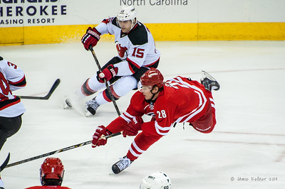 April 5, 2014. Carolina Hurricanes vs. New Jersey Devils, PNC Arena, Raleigh, NC.  Copyright © 2014 Jamie Kellner. All Rights Reserved.
