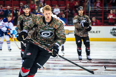 Eric Staal. March 16, 2014. Carolina Hurricanes vs. Edmonton Oilers, PNC Arena, Raleigh, NC. Copyright © 2014 Jamie Kellner. All Rights Reserved.