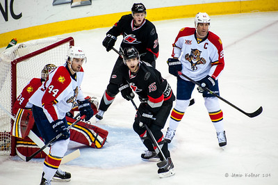 February 7, 2014. Carolina Hurricanes vs. Florida Panthers, PNC Arena, Raleigh, NC. Copyright © 2014 Jamie Kellner. All rights reserved.