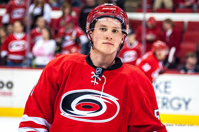 Jeff Skinner. January 5, 2014. Carolina Hurricanes vs. Nashville Predators, PNC Arena, Raleigh, NC.  Copyright © 2014 Jamie Kellner. All rights reserved.