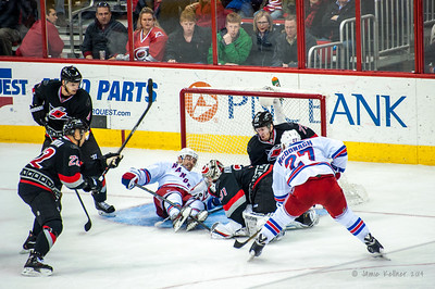 March 7, 2014. Carolina Hurricanes vs. New York Rangers, PNC Arena, Raleigh, NC. Copyright © Jamie Kellner. All Rights Reserved.