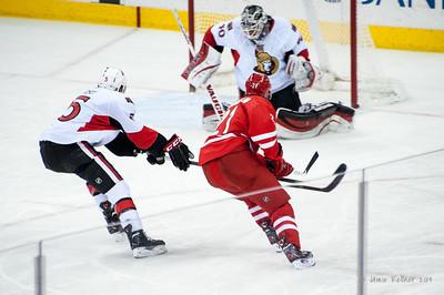 January 25, 2014. Carolina Hurricanes vs. Ottawa Senators, PNC Arena, Raleigh, NC. Copyright © 2014 Jamie Kellner. All rights reserved.
