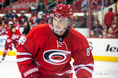 April 3, 2014. Carolina Hurricanes vs. Dallas Stars, PNC Arena, Raleigh, NC. Copyright © 2014 Jamie Kellner. All Rights Reserved.