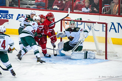 November 9, 2013.  Carolina Hurricanes vs. Minnesota Wild, PNC Arena, Raleigh, NC.  Copyright © 2013 Jamie Kellner. All rights reserved.