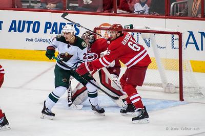 November 9, 2013.  Carolina Hurricanes vs. Minnesota Wild, PNC Arena, Raleigh, NC.  Copyright © 2013 Jamie Kellner. All rights reserved.