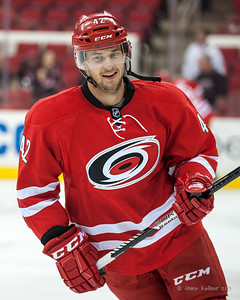 Brett Sutter. September 18, 2013. Carolina Hurricanes vs. Columbus Blue Jackets, PNC Arena, Raleigh, NC.  Copyright © 2013 Jamie Kellner. All rights reserved.