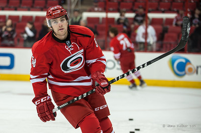 Chris Terry. September 18, 2013. Carolina Hurricanes vs. Columbus Blue Jackets, PNC Arena, Raleigh, NC.  Copyright © 2013 Jamie Kellner. All rights reserved.