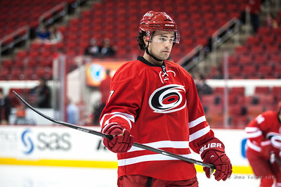 Ryan Murphy. September 27, 2013. Carolina Hurricanes vs. Buffalo Sabres (preseason), PNC Arena, Raleigh, NC.  Copyright © 2013 Jamie Kellner. All rights reserved.