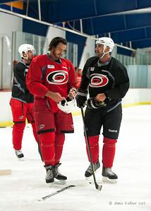 August 19, 2013. Carolina Hurricanes preseason skate at Raleigh Center Ice, Raleigh, NC.  Copyright © 2013 Jamie Kellner. All rights reserved.