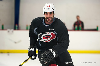 Jay Harrison. August 22, 2013. Carolina Hurricanes preseason skate at Raleigh Center Ice, Raleigh, NC.  Copyright © 2013 Jamie Kellner. All rights reserved.