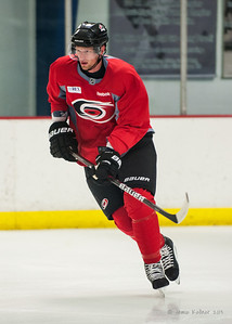 Eric Staal. August 22, 2013. Carolina Hurricanes preseason skate at Raleigh Center Ice, Raleigh, NC.  Copyright © 2013 Jamie Kellner. All rights reserved.