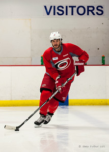 Kevin Westgarth. August 22, 2013. Carolina Hurricanes preseason skate at Raleigh Center Ice, Raleigh, NC.  Copyright © 2013 Jamie Kellner. All rights reserved.
