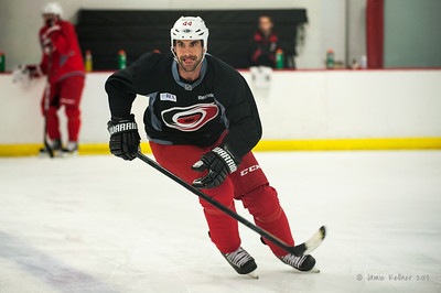 Jay Harrison. August 30, 2013.  Carolina Hurricanes preseason practice at Raleigh Center Ice, Raleigh, NC.  Copyright © 2013 Jamie Kellner. All rights reserved.