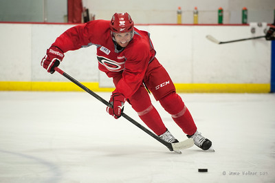 Zach Boychuk. August 30, 2013.  Carolina Hurricanes preseason practice at Raleigh Center Ice, Raleigh, NC.  Copyright © 2013 Jamie Kellner. All rights reserved.